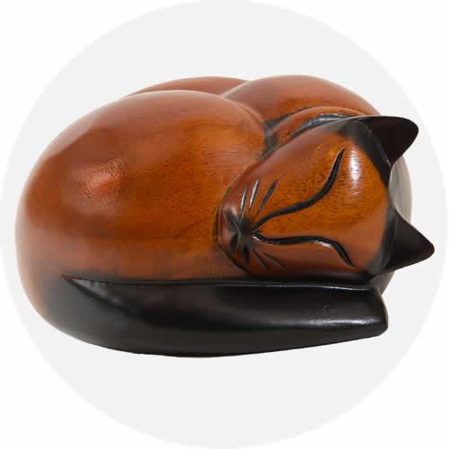 Sleeping Cat Casket